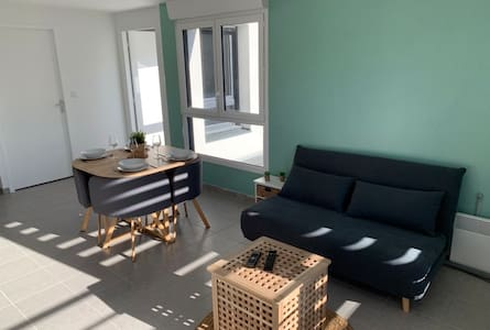 Appartement neuf 4pers 50m à pieds plage Trestraou