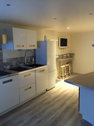 F1 neuf 32 m2 tout equipé avec café à dispo - Romagnat - Apartment