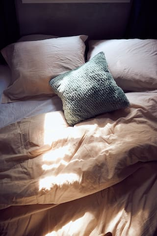 Comfortable and warm bedding