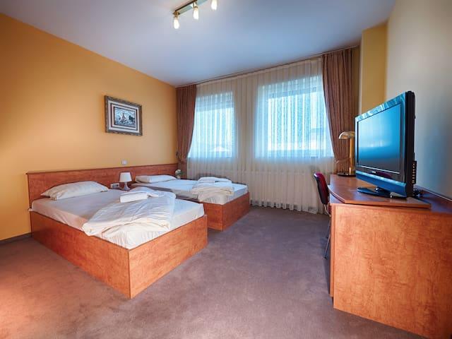2-bed room, Frankfurt Airport & Messe, C5 - Mörfelden-Walldorf - Bed & Breakfast