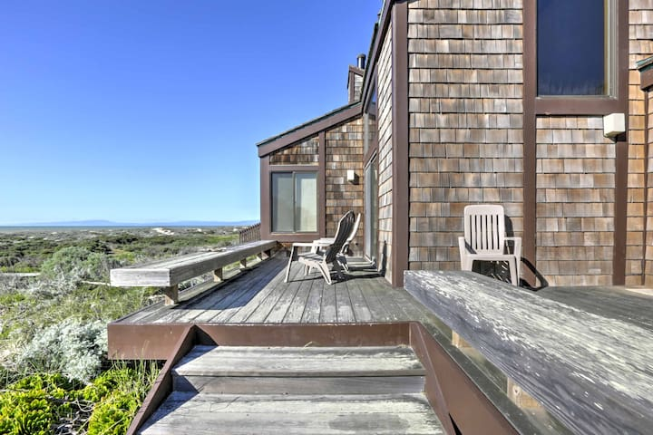 Private 3BR Moss Landing Condo w/Dune Views