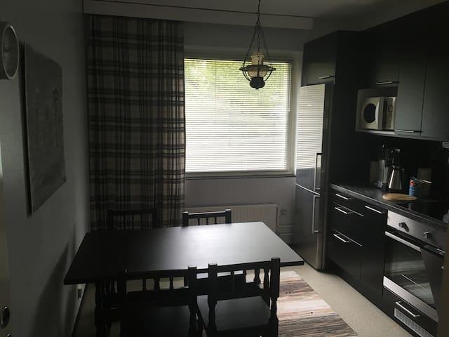 Kaksio rauhallisessa talossa Flat in a quiet house - Turku - Kondominium