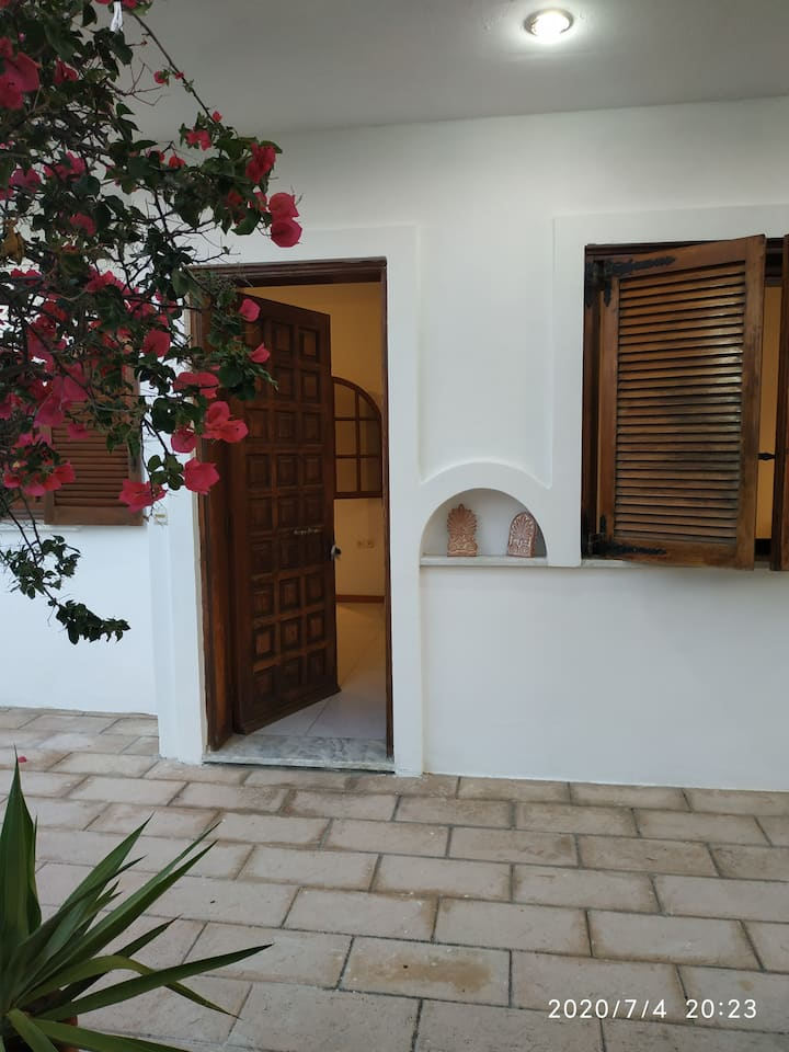 Entire apartment in Tholos with patio and garden