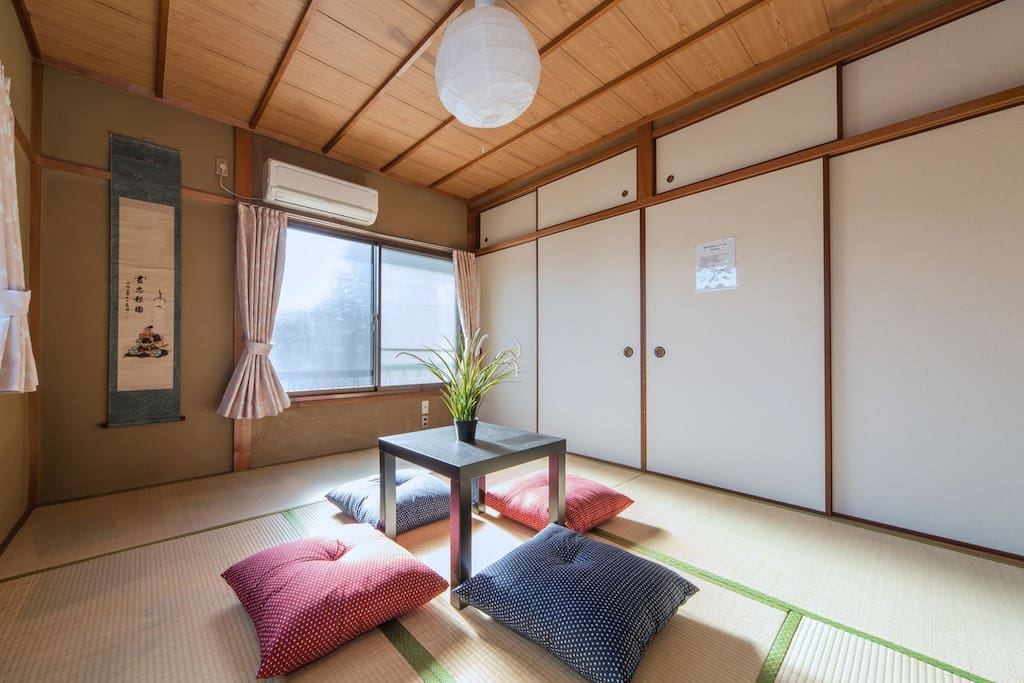 2nd floor  京都観光にとっても便利!! Our house is very convenient place to do Kyoto sightseeing