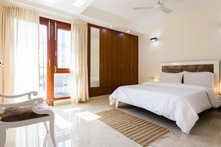 Beautiful room with Fresh & Healthy Breakfast - New Delhi - Appartement