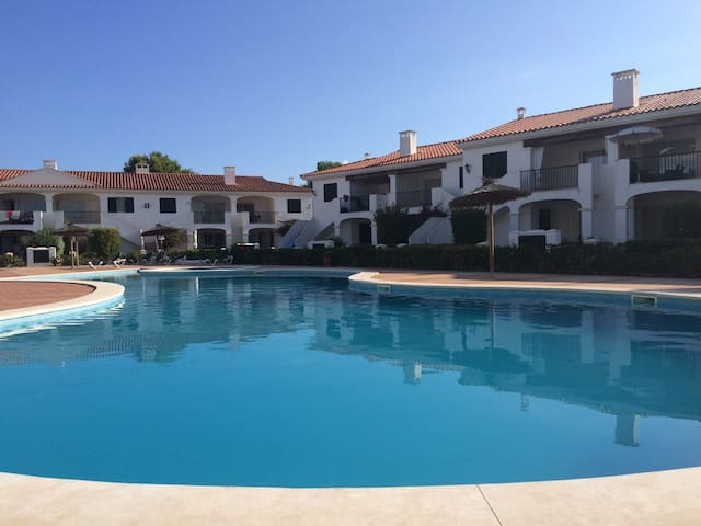 2-bed apartment w/pool and aircon - Addaia - Apartment
