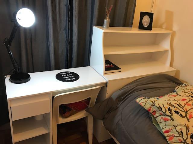 Comfy single-room at Brooklin (next to Vila Olímp)