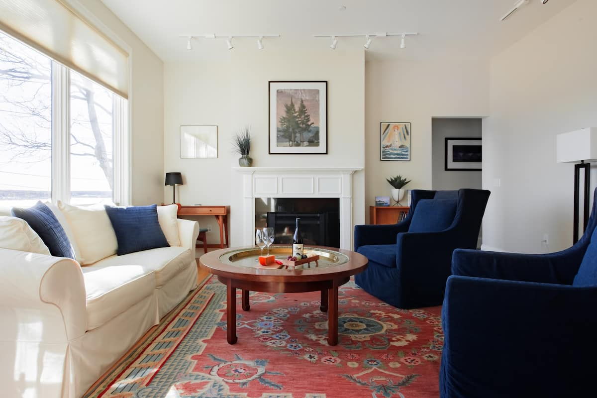 Watch the Sunrise over Portland Harbor in a Munjoy Hill Flat