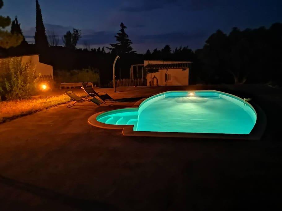 piscine une nuit d'été