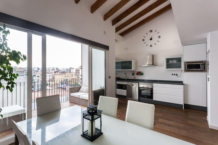 Habitación grande en pleno centro - València