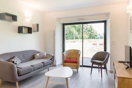 Maison à la campagne proche de Rennes en Bretagne - Mordelles - Rumah