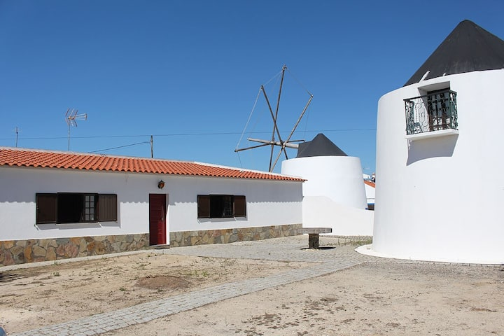 Windmill in Natural Park of SW Alentejo