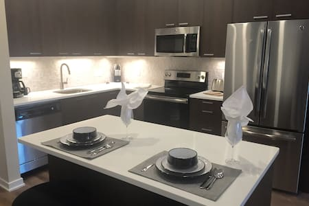 Luxury 2 Bedroom Apartment Near NYC - 哈肯萨克(Hackensack) - 酒店式公寓