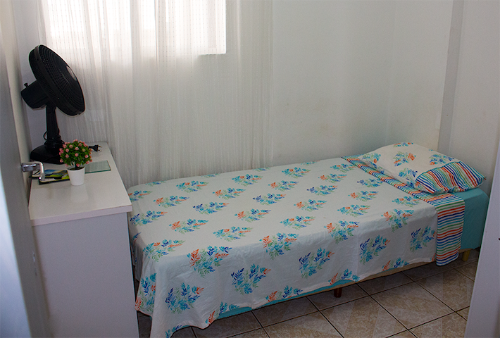 Quarto no Stiep-apt com vista mar