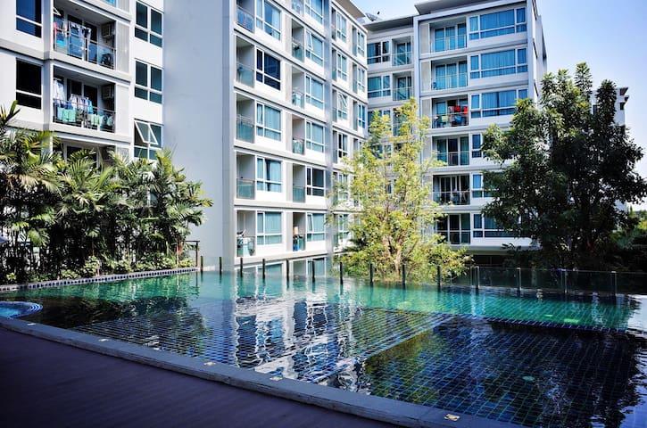 BTS旁@Bangkok Sukhumvit 超值豪华公寓! - พระโขนง - Huoneisto