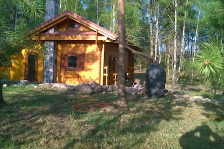 HARFA   -  Domek drewniany