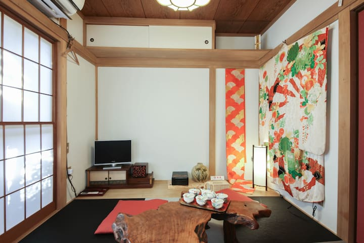 Big discount until Sep/good location real JP home/ - Itabashi - Casa