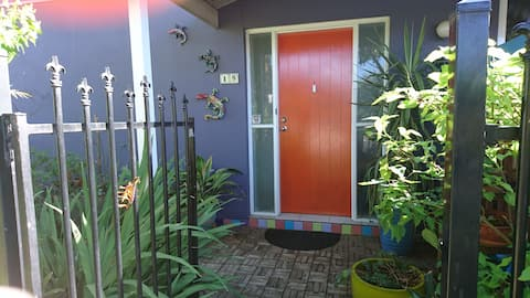 Orange Door Apartment