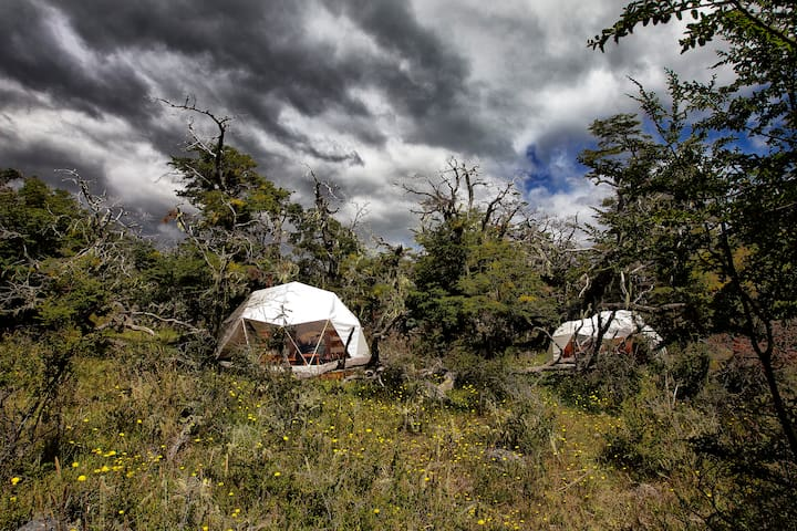 Domes - The camp