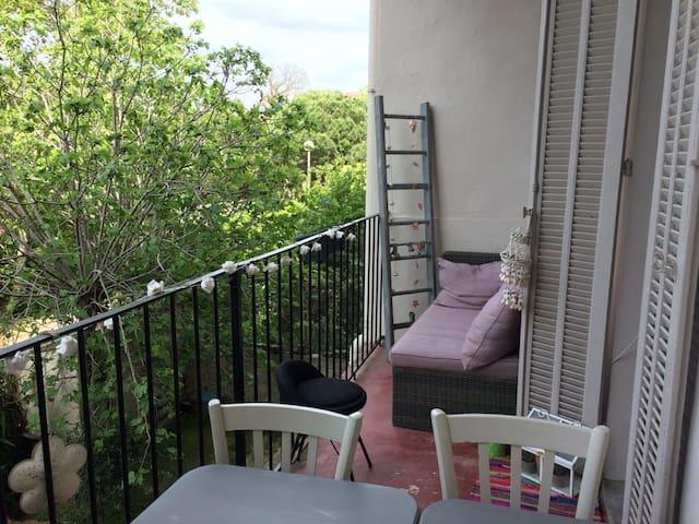 Chambre de charme au Mourillon, restos et plages - Toulon - Appartamento