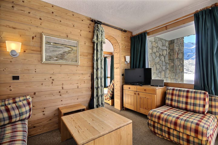 Beautiful centrale apartment with a direct access on slopes