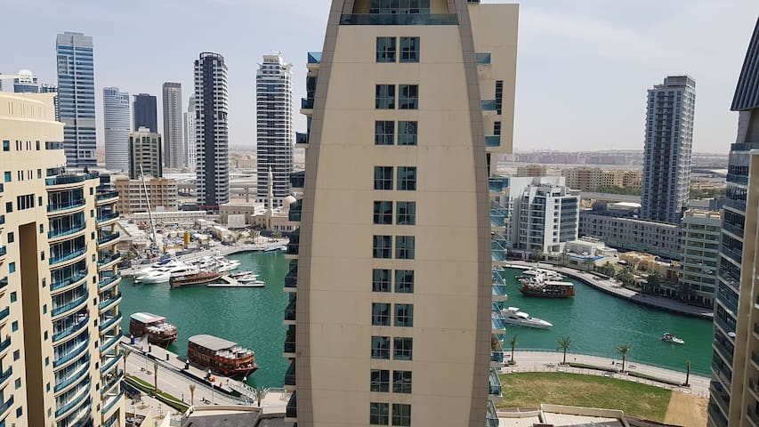 Beachfront apartment in the famous JBR of Dubai