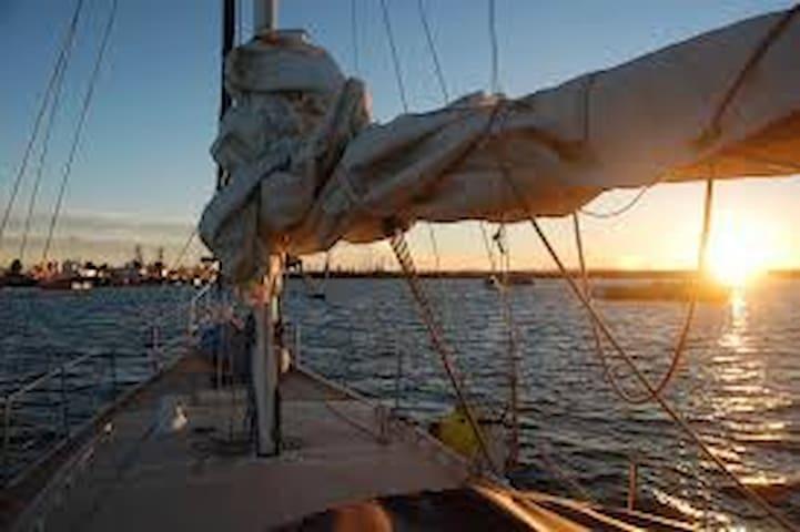 Segelboot im Hafen von Altea - Altea - Barca