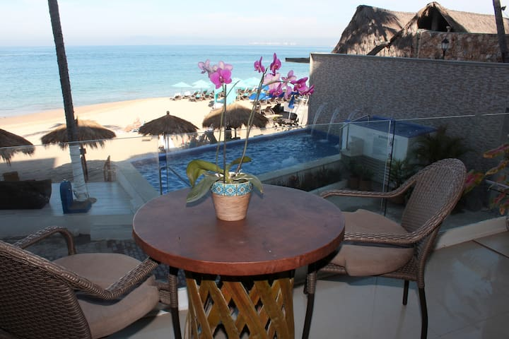 1 BR Vallarta Shores beachfront Suite #3