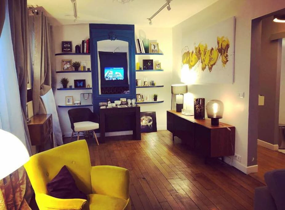 Living Room / Salon, salle a manger