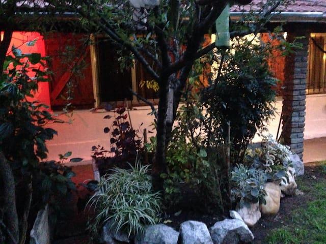 Jardin de la residencia