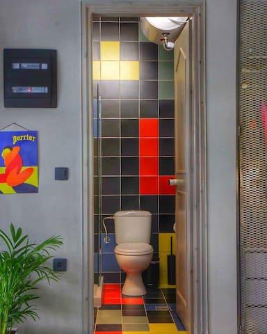 Retro Studio - Tech Facilities - Rethymno - Apartament