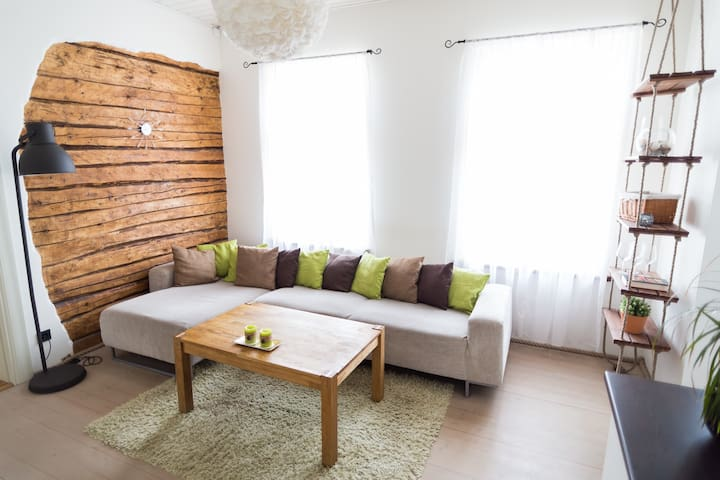 Lovely apartment in the city centre - Tartu - Departamento