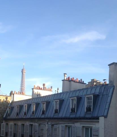 Paris Centre Eiffel Tower Trocadéro