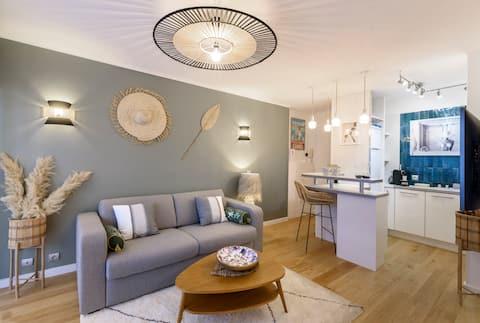 Host Inn - Sweet Croisette ❤️ Pláž a centrum ✨