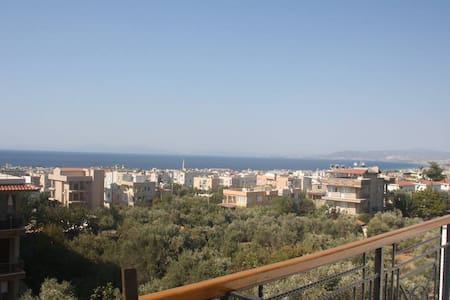 Double Bed with The Best Sea View - Kuşadası