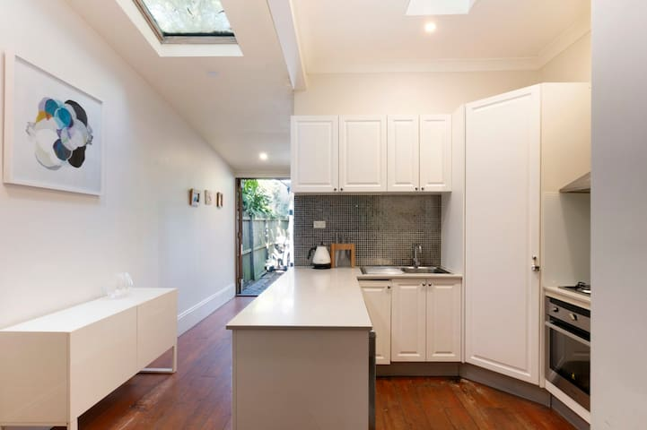Friendly family home - parking and courtyard