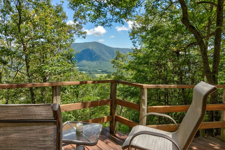 Intimate dog-friendly cabin w/ private hot tub. Close to Great Smoky Mtns!