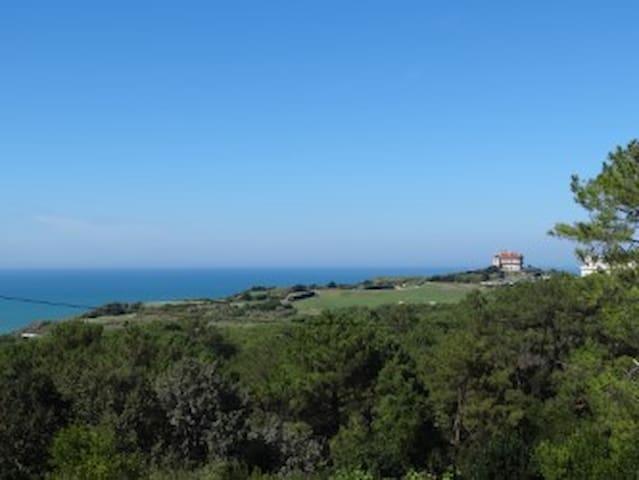 Studio vue mer et golf tout confort