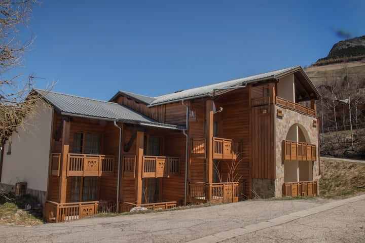 MORESTYLE CHALET - FREE+WELLNESS 3pp @ LES 2 ALPES