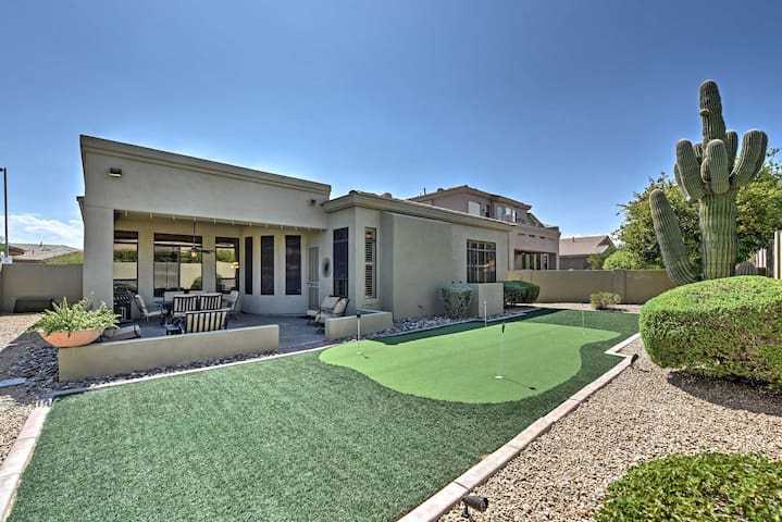 NEW! Upscale 3BR Phoenix Home w/ Backyard Patio!