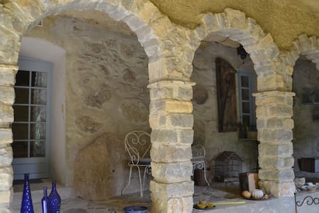 Ruim mooi appartement in kasteeltje - Bréau-et-Salagosse