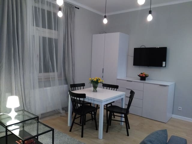 Modern Studio with great location,city centre - Kraków - Leilighet