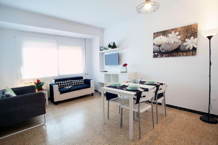 Acogedor piso en el centro de Sabadell