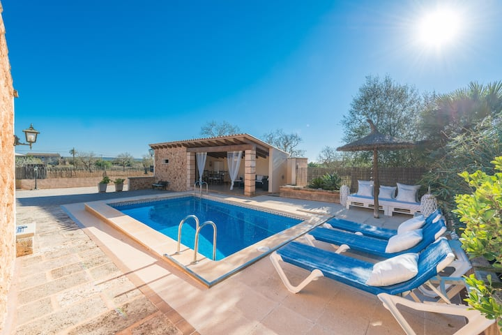 HÓRREO  - Villa with private pool in CAMPOS. Free WiFi