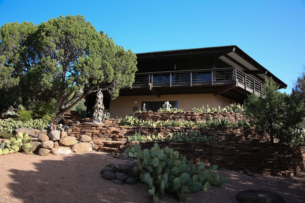 Architectural home with breath taking views houses for for Sedona architects