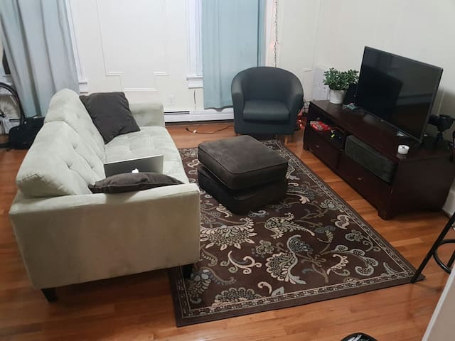 Affordable Living Room Stay, 15 min from Manhattan - Jersey City - Appartement