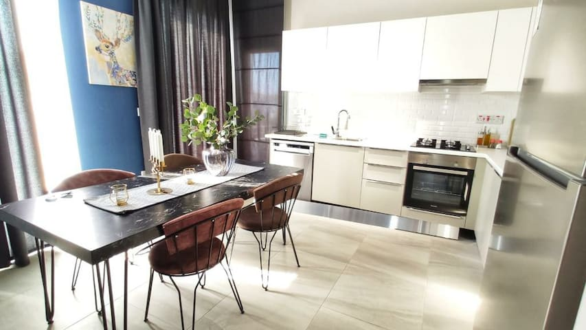 Modern Flat with Swimming Pool in GİRNE