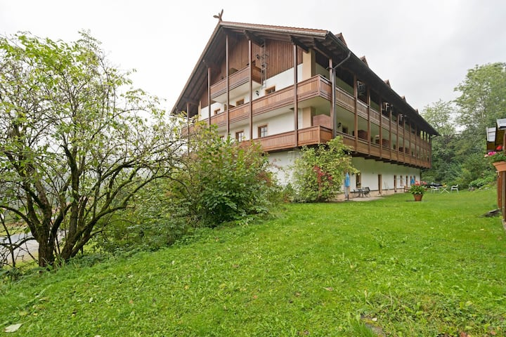 Lovely Apartment in Schwarzenbach with Sauna