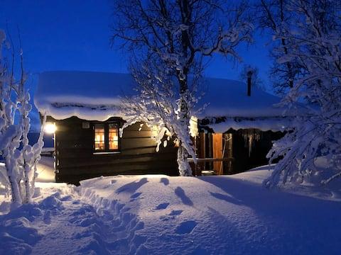 Encantadora cabaña en una bonita zona cerca de Tromsø