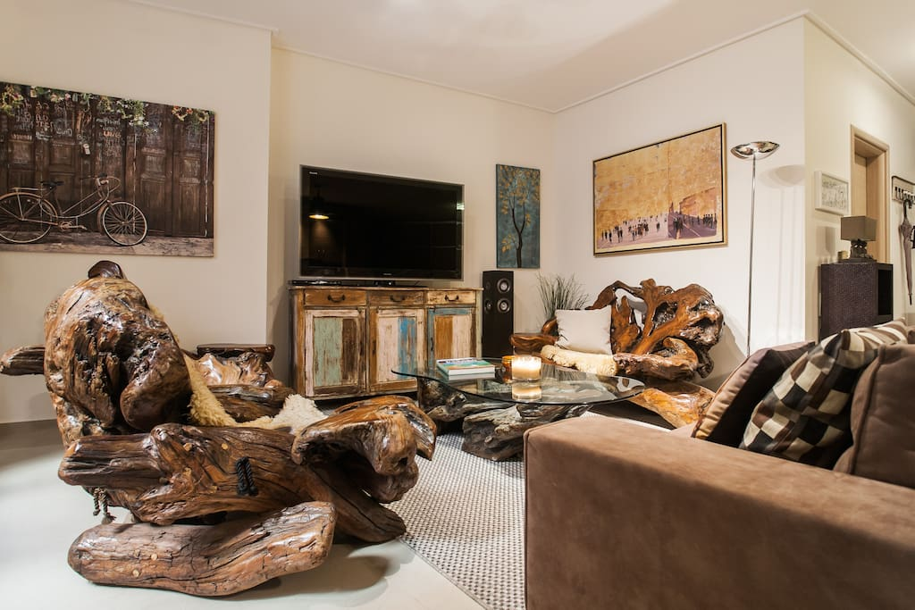 Amazing 70s  California Redwood furniture!